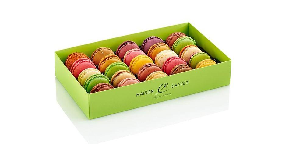 21 avril au 8 mai 2018 inclus : Quinzaine du Macaron Maison Caffet ! Et vous, vous mangez quoi ?