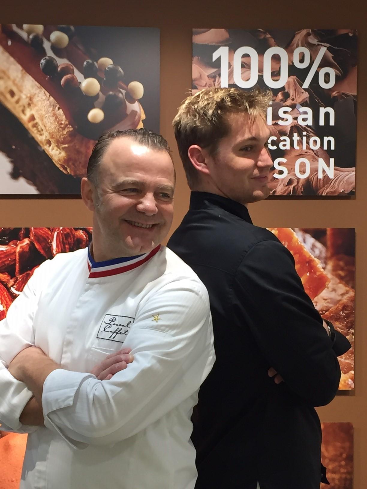 Yvan Kaminski, responsable de la boutique Maison Caffet de Nancy, l'esprit du service gourmand !